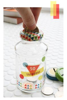 Clever idea!Bottle caps to turn your used bottle into an moneysaver