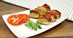 Bacon och potatissushi: Gott, enkelt och en given succé bland gästerna Bacon, Asian Recipes, Ethnic Recipes, Caprese Salad, Junk Food, Baked Potato, Cooking Tips, Nom Nom, Sausage