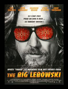 """The Big Lebowski """"Sometimes the Bar Eats You"""" New Version, very awesome colors. Description from ebay.com. I searched for this on bing.com/images"""