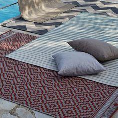 Tapis 200x140cm intérieur et extérieur - Osiris - Tapis-Textiles, Tapis-Salon, Salle à manger-Par pièce - Décoration intérieur - Alinea