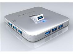 SEDNA - Desktop 10 Ports USB 3.0 Hub, Provide 10 Super  Speed USB 3.0 Port. With also 1 iPad Charging port ( not compatible ...