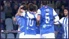 All Goals - Real Sociedad 3-1 Santander - 22-01-2014 Highlights | BeinGoal.Com
