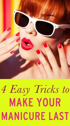 DIY tips for making your manicure last