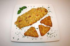 Lauch - Frischkäse - Schnitzel