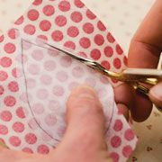 easy applique in 4 steps.