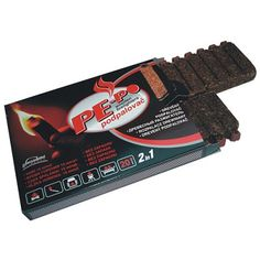 Podpaľovač PE-PO®, drevný, 20 podpalov, FSC 100% The 100