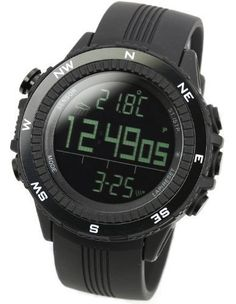 [LAD WEATHER] German Sensor Digital Compass Altimeter / Barometer/ Weather Forecast/ Multi function/ Outdoor Climbing/running/walking Sport Watch. For product & price info go to:  https://all4hiking.com/products/lad-weather-german-sensor-digital-compass-altimeter-barometer-weather-forecast-multi-function-outdoor-climbingrunningwalking-sport-watch/