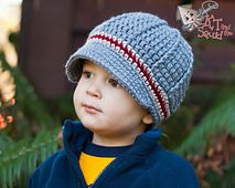 Ravelry: The Perfect Stripe Newsboy Hat pattern by KT and the Squid