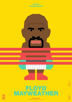 Pacquiao VS Mayweather on Behance