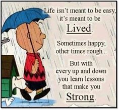 By Charlie Brown Peanuts Quotes. Charlie Brown Quotes, Charlie Brown And Snoopy, Peanuts Quotes, Snoopy Quotes, Positive Quotes, Motivational Quotes, Inspirational Quotes, Quotes Quotes, Laugh Quotes