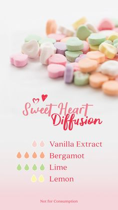 Try this fun and uplifting diffusion recipe, just in time for Valentine's Day :) Essential Oils Guide, Doterra Essential Oils, Essential Oil Combinations, Essential Oil Perfume, Diffuser Recipes, Essential Oil Diffuser Blends, Kid Stuff, Remedies, Valentines