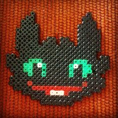 Toothless hama beads by beth_and_negua