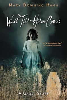 "Pinner says ""Wait Till Helen Comes by Mary Downing Hahn - probably one of the scariest things I ever read in the 4th grade...(or my life)"" Kensey can't put it down!"