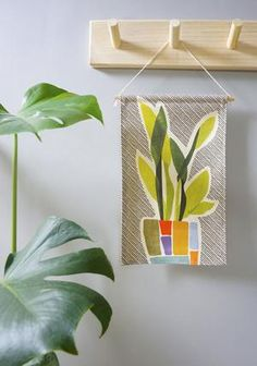 Our mini wall hangings feature original botanical designs printed on thick, quality canvas fabric and suspended from natural Tasmanian oak with cotton twine - ready to be hung as a perfect addition to your home or office space. Fabric Wall Decor, Wall Decor Design, Cotton Canvas, Canvas Fabric, Mini Canvas, Snake Plant, Love Home, Wall Hangings, Twine