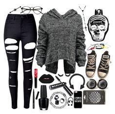 Designer Clothes, Shoes & Bags for Women Cute Emo Outfits, Punk Outfits, Grunge Outfits, Outfits For Teens, Fashion Outfits, Batman Outfits, Fashion Boots, Punk Dress, Lolita Dress