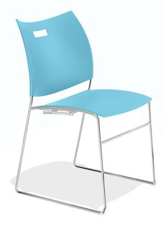 plastic backrest, plastic seat