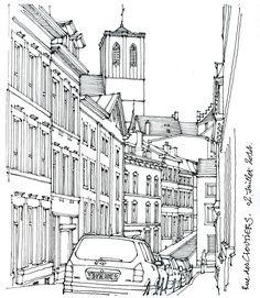 Liège, rue des Cloutiers | por gerard michel
