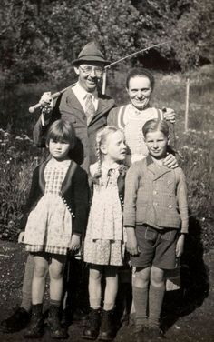 Heinrich Himmler. Just a family man at heart.