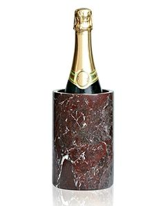 Premium Red Marble Wine Chiller  KEEP WINE / CHAMPAGNE CHILLED - Provide a cool glass of wine in style at your next social gathering. This premium marble keeps wine cool due to its inherent cooling properties