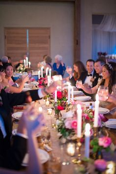 Romantic and Lush Pink Wedding with Photos by Matthew Moore Photography – Christine and Rob
