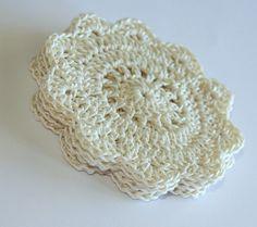 Pretty Crochet Coasters