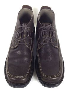 Clarks Shoes Women's Brown Leather Boots 7 #Clarks #FashionAnkle #Casual