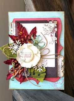 12 Days of Christmas: Day 4 by Cari Fennell #12daysofchristmascards #christmascards