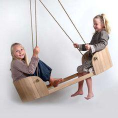 fantastic double indoor / outdoor swing!