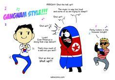 Gangnam Style - Scandinavia and the World