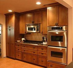 quarter sawn oak kitchen cabinets - Google Search | Kitchen ideas ...