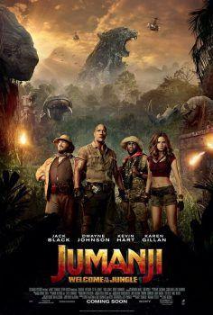 Jumanji 2 – Welcome to the Jungle (2017) Full Hd izle
