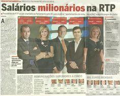 JornalQ.com - ÚLTIMA HORA - Petição para BAIXAR salários milionários da RTP, ASSINE aqui