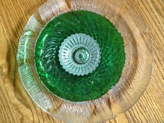 I made this flower plate using 3 pieces of inexpensive glassware. Learn how with my  step-by-step directions.