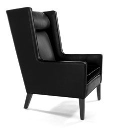modern wing chairs   ... about this modern chair from Bright Chair Company? Van Wing Chair