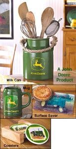 john deere kitchen decor | ... country charm to your kitchen with the john deere kitchen collection