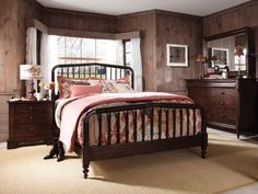 Kincaid's Vintage Maple collection - classically styled solid maple and birch are infused with modern details,