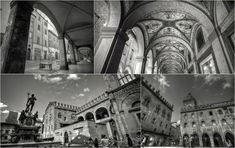 "Bologna Amazing Architecture - ""Intriguing Bologna... in Black and White"" by @1step2theleft"