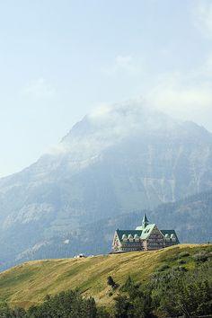 Prince of Wales Hotel, Waterton Lakes National Park, Southern Alberta, Canada