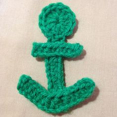 Crochet a Cute And Easy Anchor Aplique