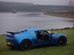 Lotus Exige - Laser Blue