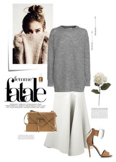 """""""femme fatale"""" by barngirl ❤ liked on Polyvore featuring Links of London, J.W. Anderson, Pierre Hardy, Post-It, T By Alexander Wang, Balenciaga, Tiffany & Co. and modern"""