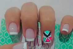 Happy Nails, Manicure Y Pedicure, Crazy Nails, Hair And Nails, Hair Beauty, Nail Art, Diana, Finger Nails, Pink Nail Art