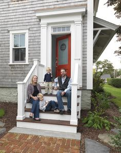 1000 images about front porch ideas on pinterest front for Front door steps ideas