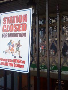 Copley Square on Marathon Monday.