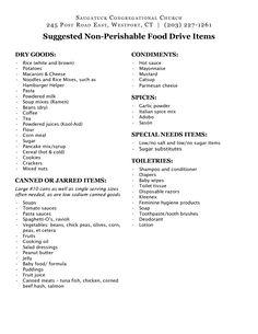 non perishable foods list emergency Emergency Food Supply, Emergency Preparation, Emergency Supplies, Emergency Kits, Disaster Preparedness, Survival Prepping, Emergency Preparedness Food List, Survival Food List, Emergency Rations