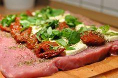 Gefüllter Schweinerücken Caprese mit Tomate & Mozzarella-Schweinerücken Caprese-ItalienischerSchweinerueckenCaprese03
