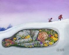 Bilderesultater for lisa aisato Illustration Artists, Illustrations, Yule, Lisa, Sabbats, Winter Solstice, Equinox, Winter Is Coming, Best Artist