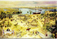Timucua Indians Food | James R. Jeffries FINE ART