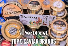 Are you a full blown caviar junkie or just developing a taste for the delicacy? Here are our favorite brands for caviar lovers everywhere. #gourmet #foodies #netcost
