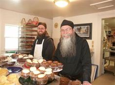 Jampot monks creating delicious things.  The Jampot shop is located just outside of Eagle Harbor, MI in the glorious Keweenaw Peninsula.